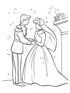 Cinderella Stepmother And Stepsisters Coloring Pages