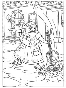 Coco Characters Coloring Pages