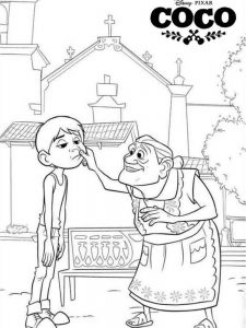 Coco Coloring Pages Miguel