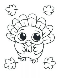 Coloring Book Pages Turkey