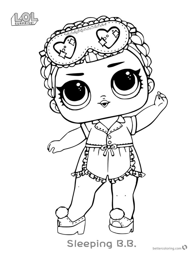 Printable Lol Dolls Coloring Pages For Kids Free Coloring Sheets