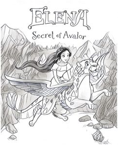 Coloring Pages Elena Secrret of Avalor
