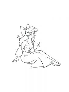 Coloring Pages For Disney Princesses