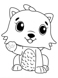 Coloring Pages For Hatchimals