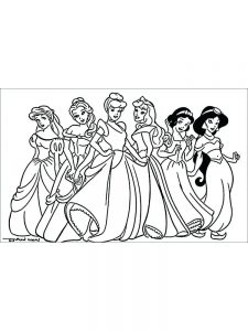 Coloring Pages For Princesses