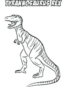 Coloring Pages For T Rex