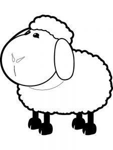 Coloring Pages For The Lost Sheep