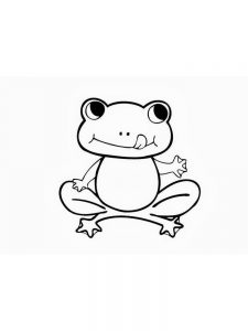 Coloring Pages Frog And Toad