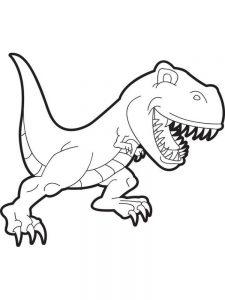 Coloring Pages Of A T Rex