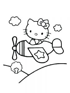 Coloring Pages Of An Airplane 1