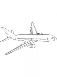 Coloring Pages Of An Airplane