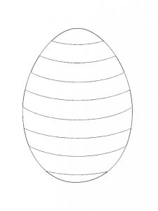 Coloring Pages Of An Easter Egg