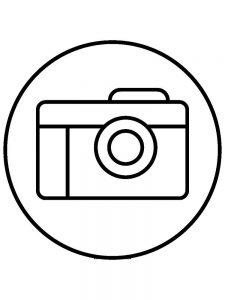 Coloring Pages Of Camera