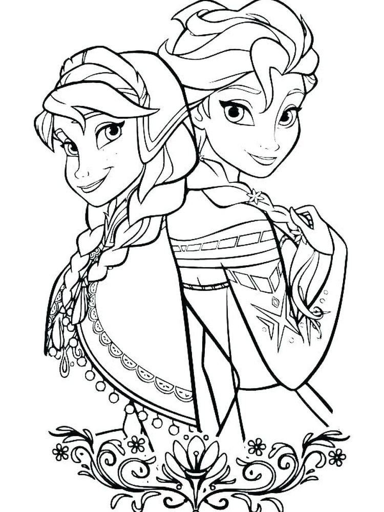 Coloring Pages Of Castles And Princesses