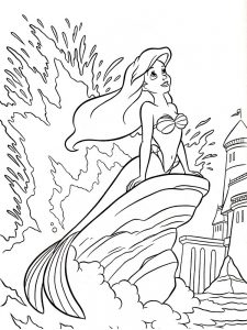 Coloring Pages Of Fairy Princesses