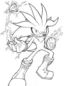Coloring Pages Of Shadow The Hedgehog