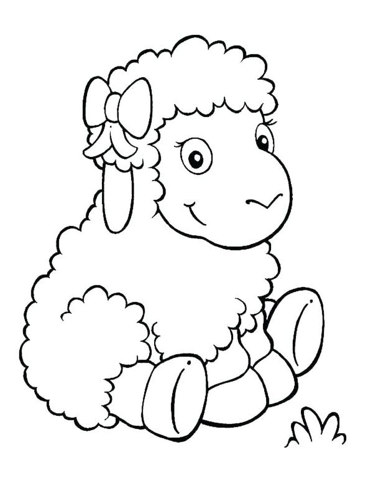 Coloring Pages Of Sheep