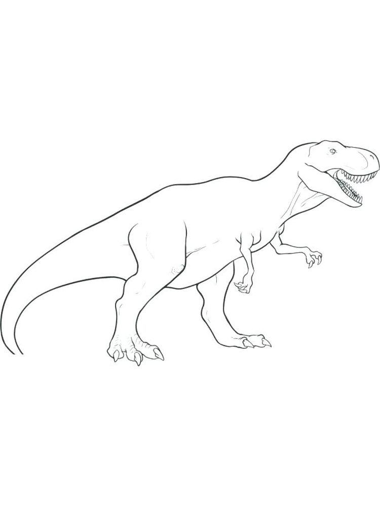 Coloring Pages Of T Rex