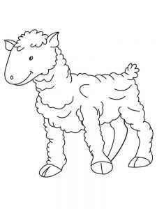 Coloring Pages Of The Lost Sheep