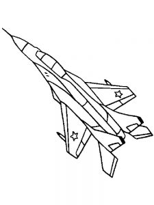 Concorde Airplane Coloring Pages