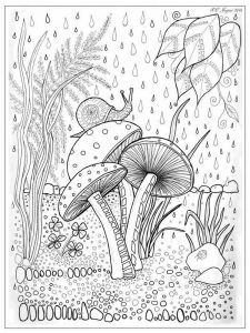 Cone Snail Coloring Page