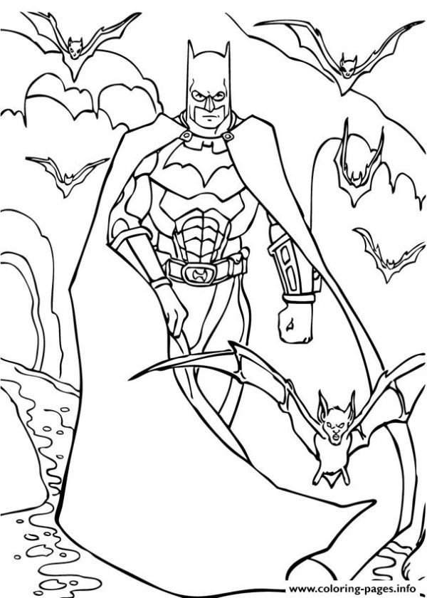 Cool Printable Batman Coloring Pages Printable