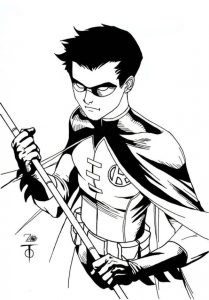 Cool robin coloring pages