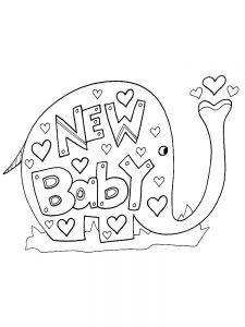 Cute Baby Animals Coloring Pages free