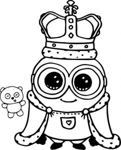 Cute Coloring Pages Minion