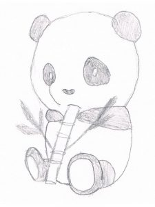 Cute Panda Coloring Pages Printable