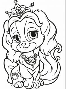 Cute Puppy Coloring Pages For Adults