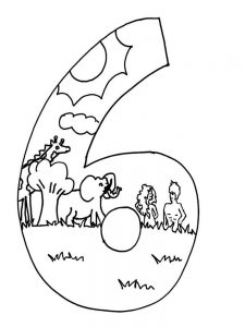 Days Of Creation Coloring Pages For Preschoolers