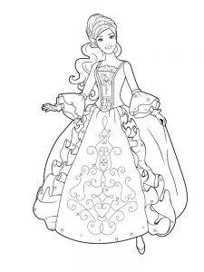 Disney Princess Tiana Coloring Pages Free