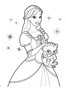 Disney Princesses Colouring Pages To Print