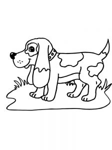 Dog Coloring Pages By Number