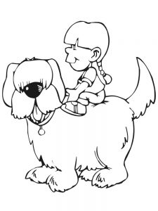 Dog Coloring Pages Christmas