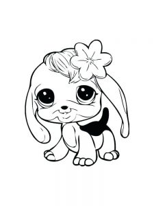 Dog Coloring Pages For Adults Printable