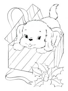 Dog Coloring Pages For Toddlers
