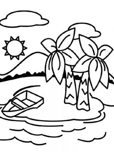 Drama Island Coloring Pages