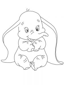Dumbo Coloring Pages Free Printable
