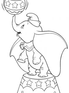 Dumbo Movie Coloring Pages