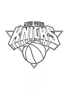 Dunking Basketball Coloring Page