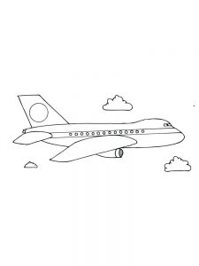 Dusty The Airplane Coloring Pages