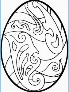 Easter Egg Coloring Pages Free