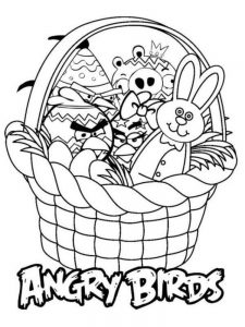 Easter Egg Colouring Pages