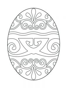 Easter Egg Colouring Pages For Adults