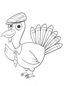 Educational Turkey Coloring Pages