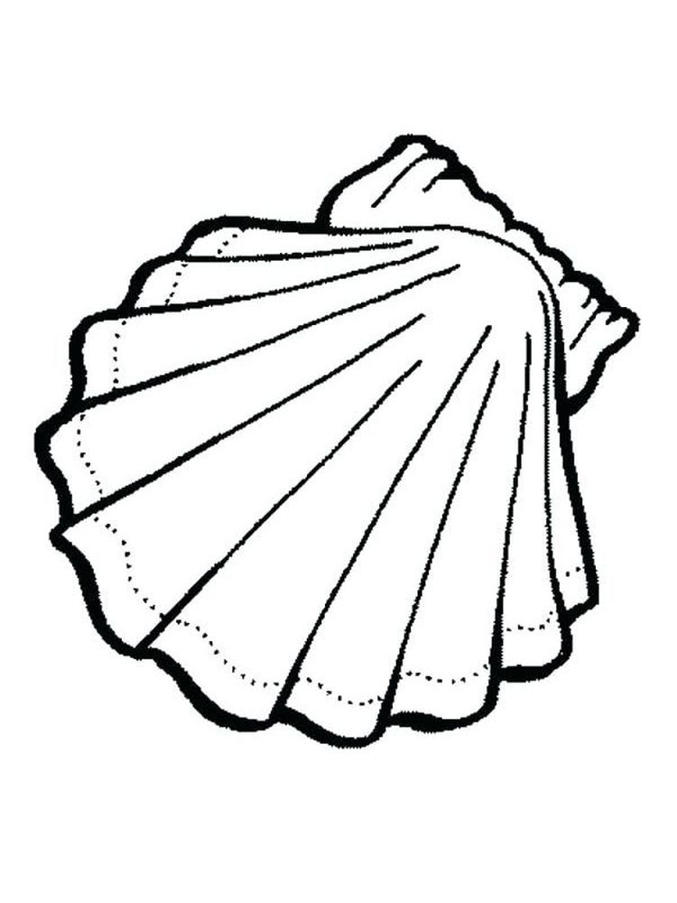 Egg Shell Coloring Page