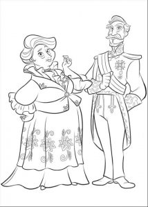 Elena of Avalor Coloring Sheet