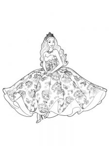 Emo Disney Princesses Coloring Pages